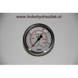 Manometer 63, 0-1000 bar/psi