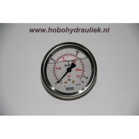 Manometer 63, 0-1000 bar/psi