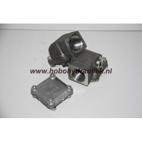 "Rail connector set 1"" BSP"