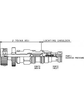 Pressure reducing T-11A