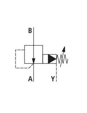 Pressure reducing G1/2''